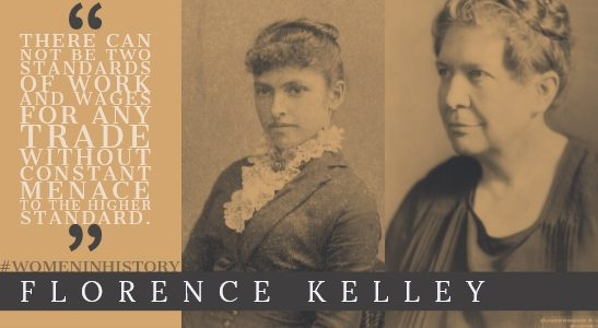 florence kelley, women in history at hercules slr