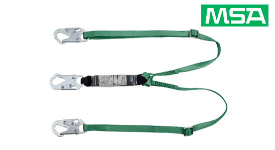 MSA Safety - New V-Series Energy-Absorbing Lanyards