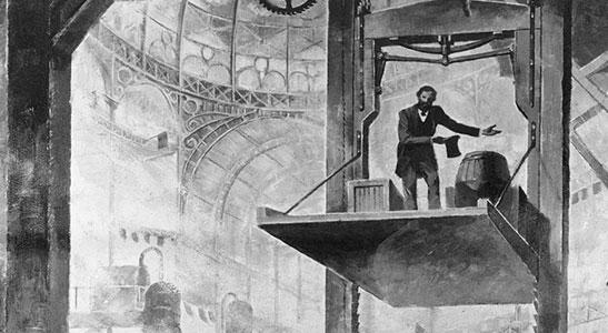 Stopping the Drop - Pioneer, Elisha Graves Otis