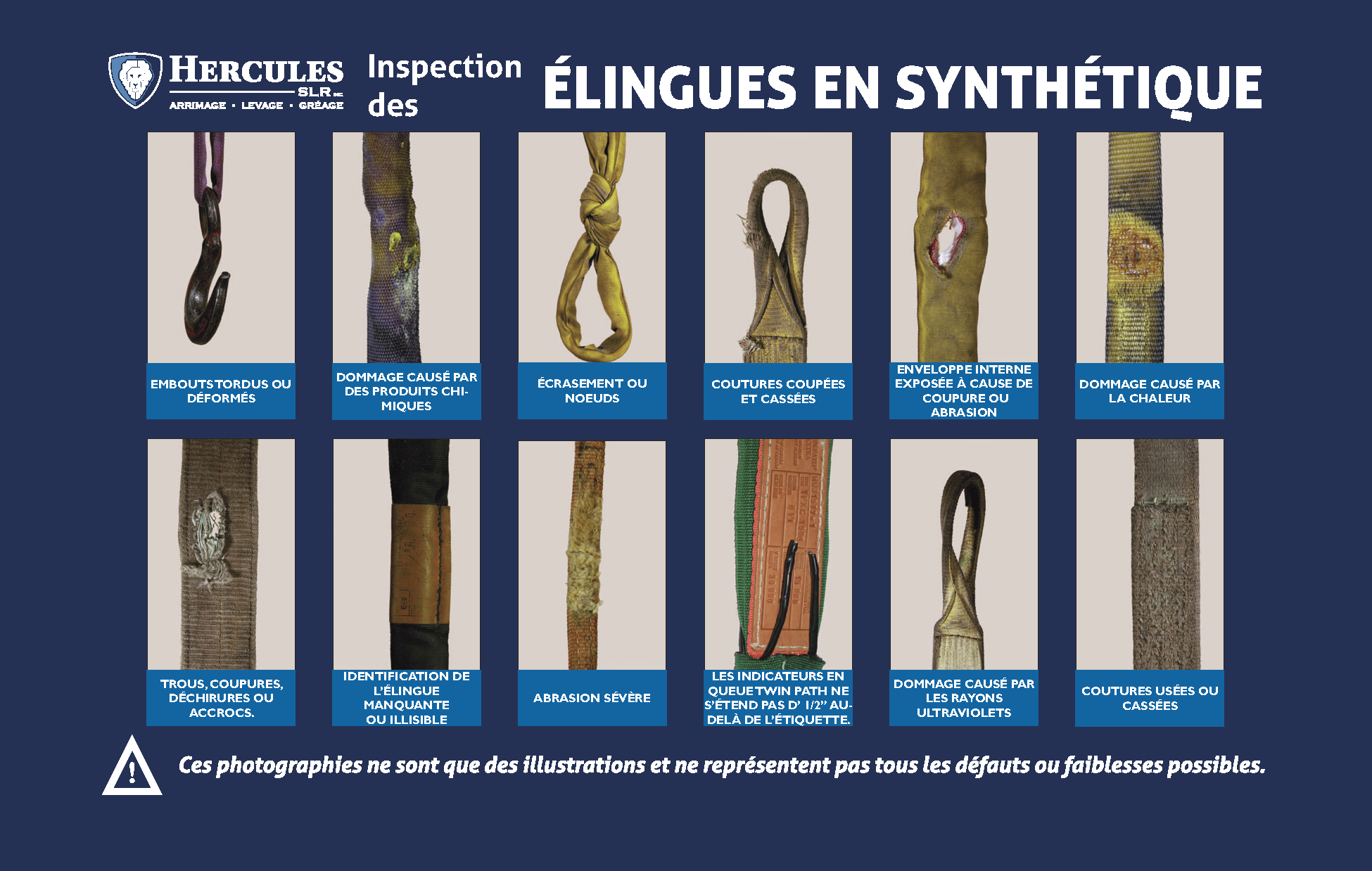 Synthetic slings inspection guide FR Page 1