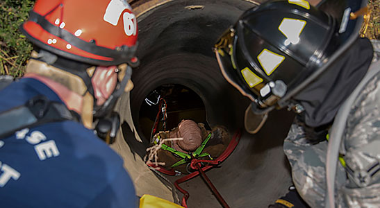 Confined Spaces: Hercules' Safety Tips