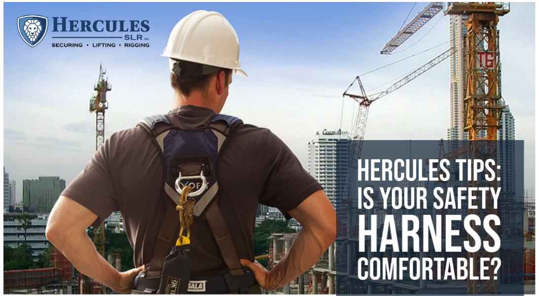 Les Conseils d'Hercules : Votre Harnais de Sécurité Est-il Confortable?