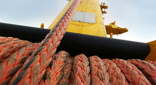 Samson K-100 hoist line: first synthetic crane rope-hercules-slr
