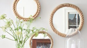 Manila Rope Mirror DIY