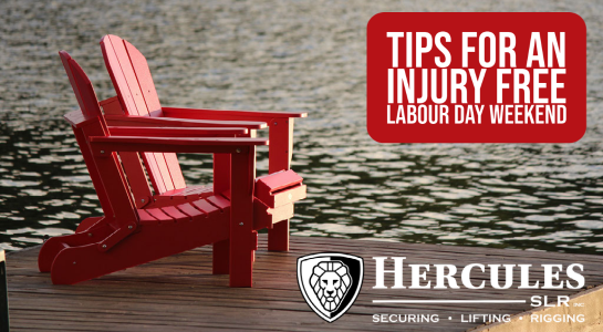 Tips for an Injury Free Labour Day Weekend