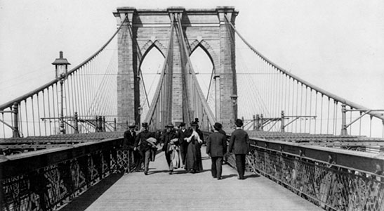 Brooklyn bridge engineer