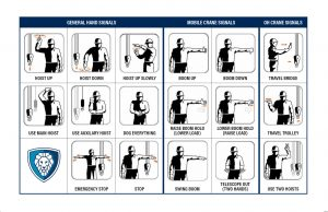 Crane Hand Signals Downloadable Reference Sheet