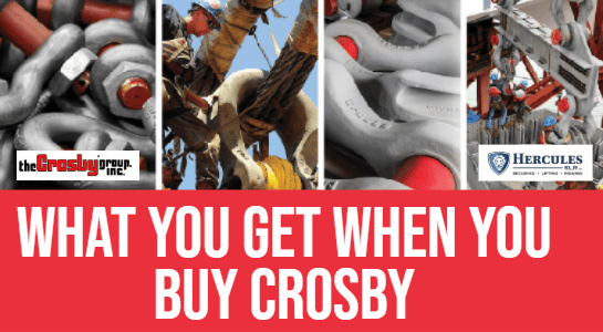 crosby rigging equipment