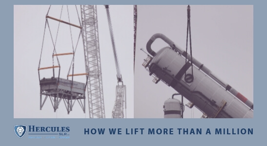 Heavy Lifting with Hercules SLR | How we Lift 24Million