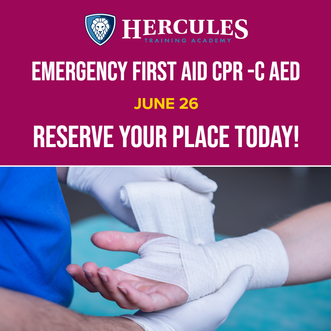Emergency First Aid CPR -C AED