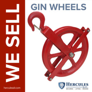 red gin wheel pulley