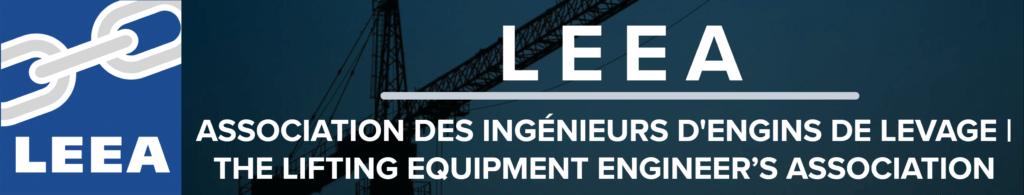 l'association des ingénieurs en équipement de levage leea hercules slr leea membre à part entière canada