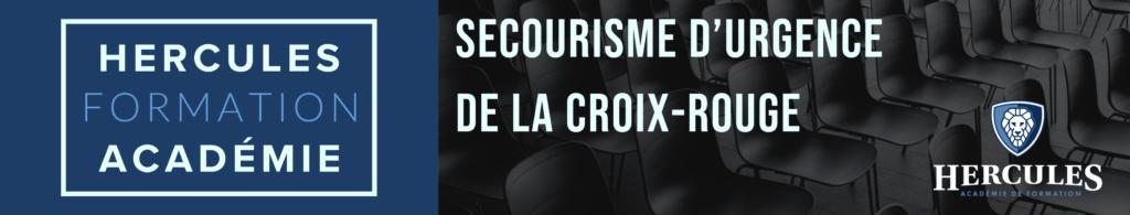 hercules academie de formation Secourisme d'urgence de la Croix-Rouge
