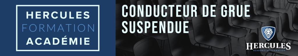 Conducteur de grue suspendue hercules formation acadmie