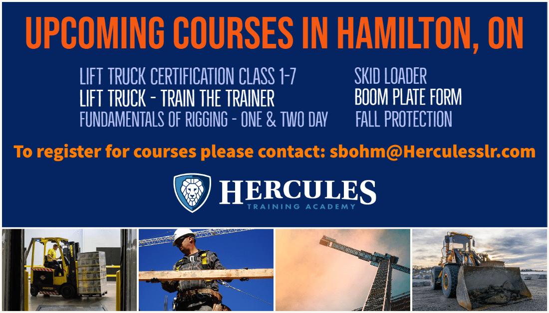 Hamilton Training Courses