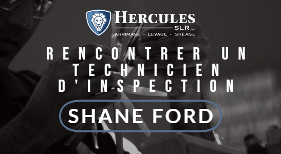 hercules slr inspection technicien shane ford technicien d'inspection