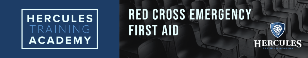 Red Cross Emergency First Aid training course
