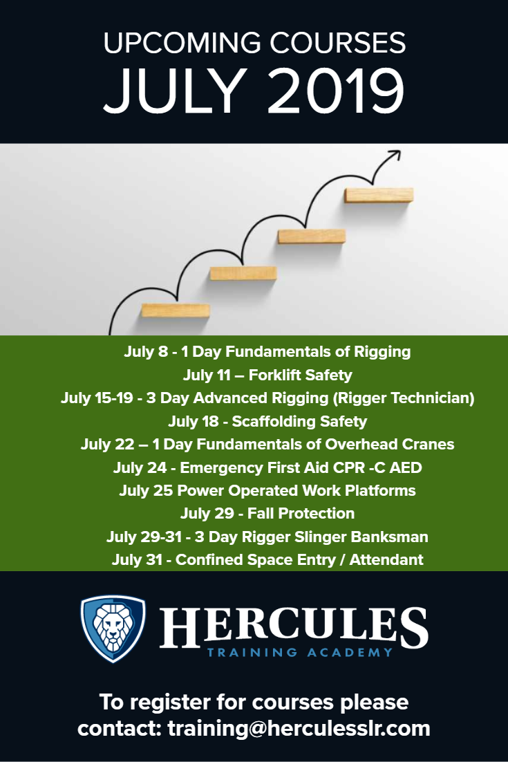 Training Courses July