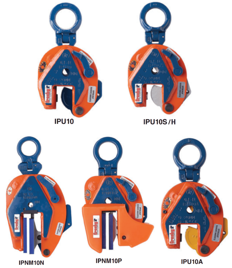 Vertical Lifting Clamps