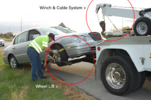 Winch and Tire graphic