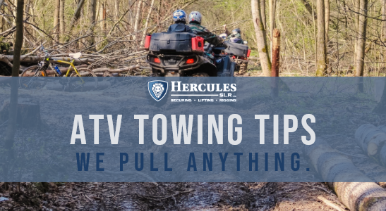 atv towing tips