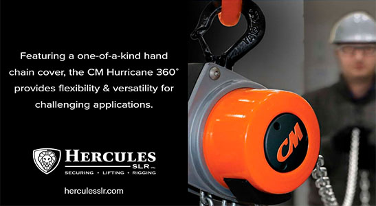 cm hurricane 360 hand chain hoist by columbus mckinnon