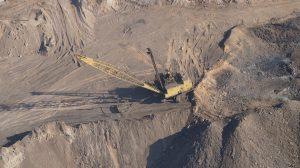 dragline mining coal