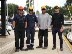 Frakensling Marina Crew