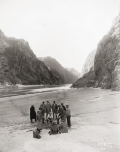 hoover dam inspection party 1931